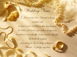 Renewing Vows Poems