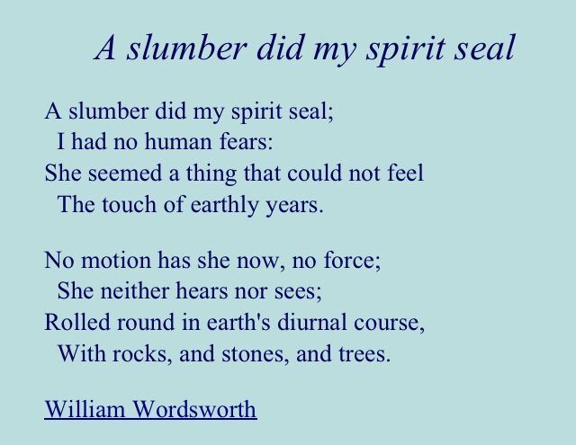 Wordsworth Short Poems