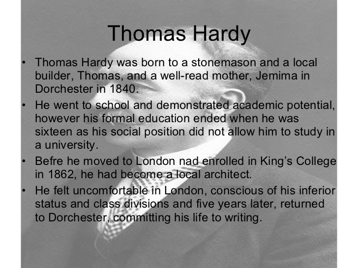 thomas hardy essay questions In this excerpt from thomas hardy's   well-written essay in which you analyze hardy's portrayal of the  ap english literature 2016 free-response questions.