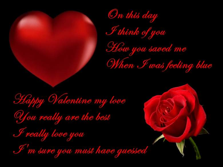valentine day poems for him – thin blog, Ideas