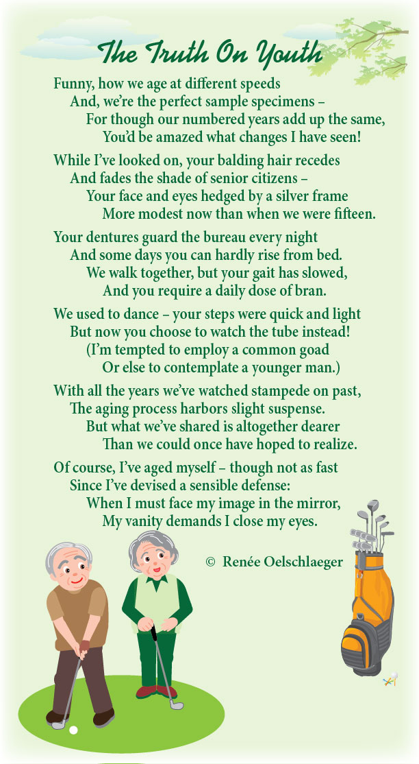 Growing old Poems