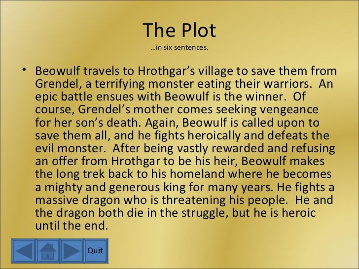 beowulf summary theme essay Beowulf an epic tale beowulf is a powerful tale about a hero who battles beasts and dies a tragic heroic death this tale of beowulf is an epic that has been adapted throughout the years.