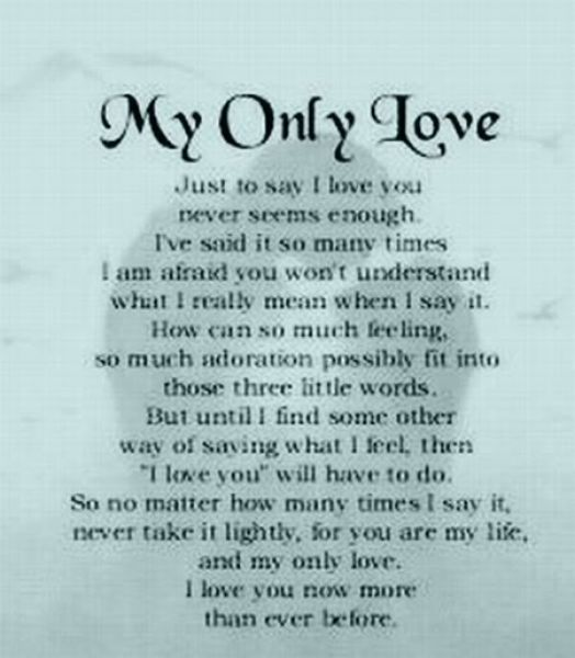 the deepest love poem
