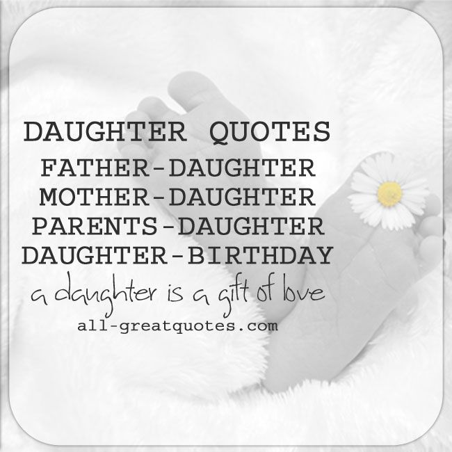 Father Daughter Quotes Poems
