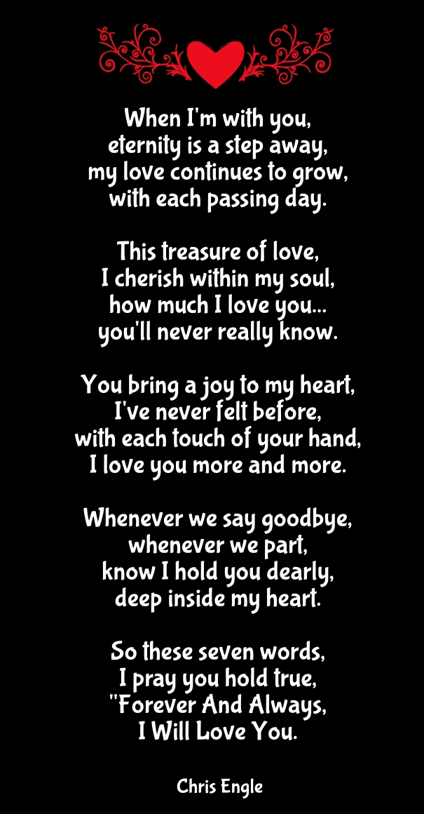 I M In Love With You Poems