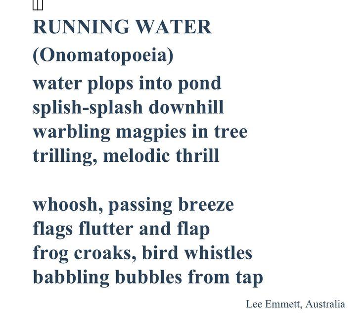 Onomatopoeic Poems