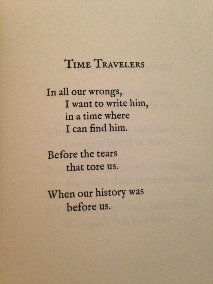 Time love Poems