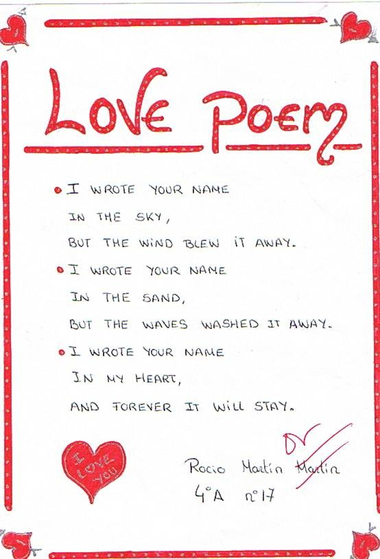 sweet poems for her to smile