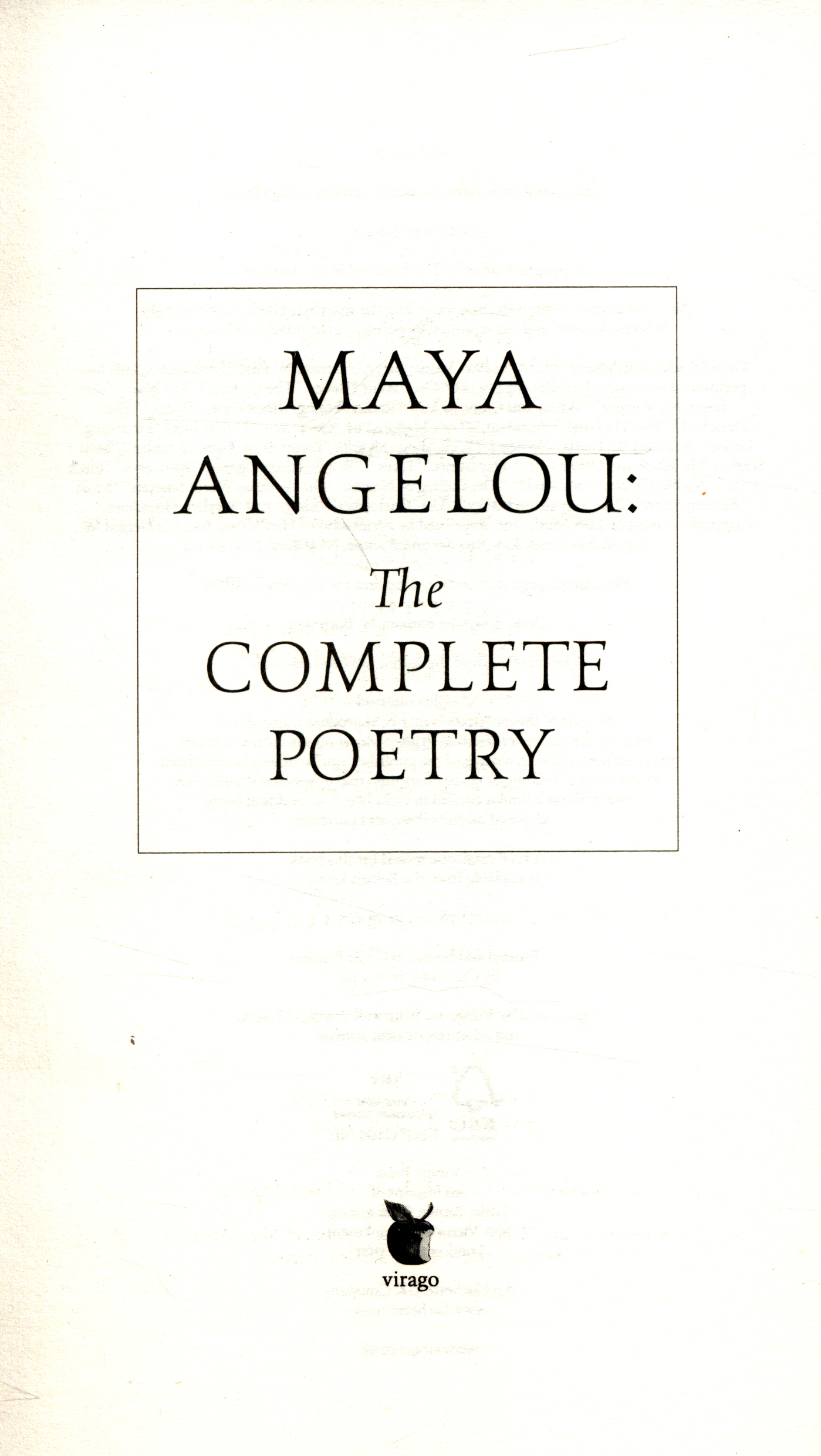 poetry analysis poor girl by maya angelou Maya angelou (11px/ˈmaɪə ˈændʒəloʊ/ (born april 4, 1928) is an american poet and prose author angelou has been called america's most visible black female autobiographer (by scholar joanne m braxton) she is best known for her series of 6 autobiographical volumes, which focus on her.