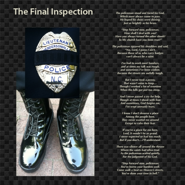 Law Enforcement Poems