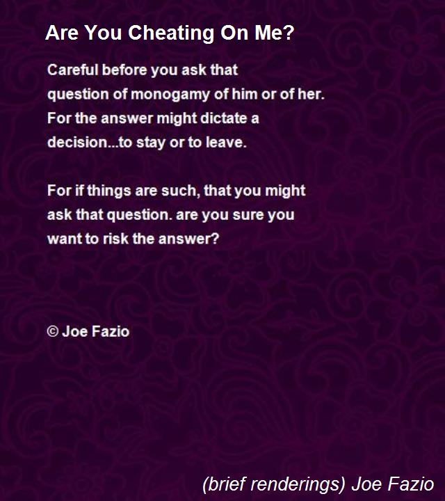 Poems for cheaters