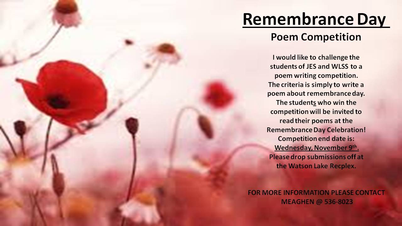remembrance day essay competition Remembrance day is about remembering the men and women who risked their lives for our country and its people if you stop and think about it we wouldn't have homes or all the luxuries we will write a custom essay sample on remembrance day specifically for you for only $1638 $139/page.