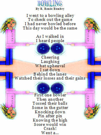 Funny bowling poems