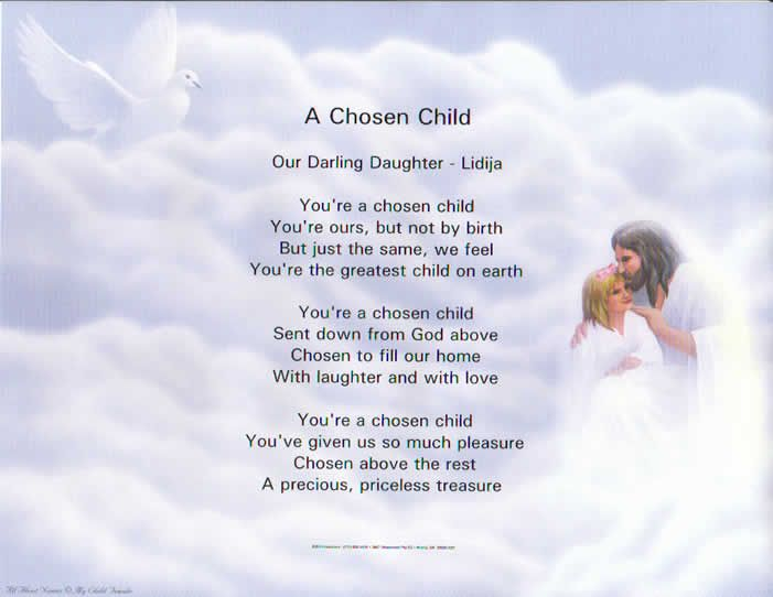 Adopted daughter Poems