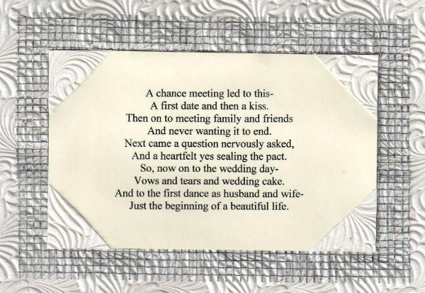 Unique Wedding Poems