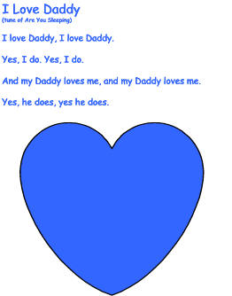 I Love You Daddy Poems