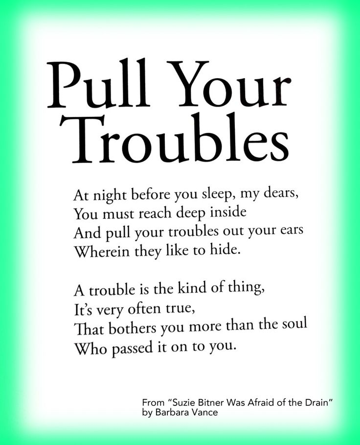 Short Bullying Quotes: Worry Poems