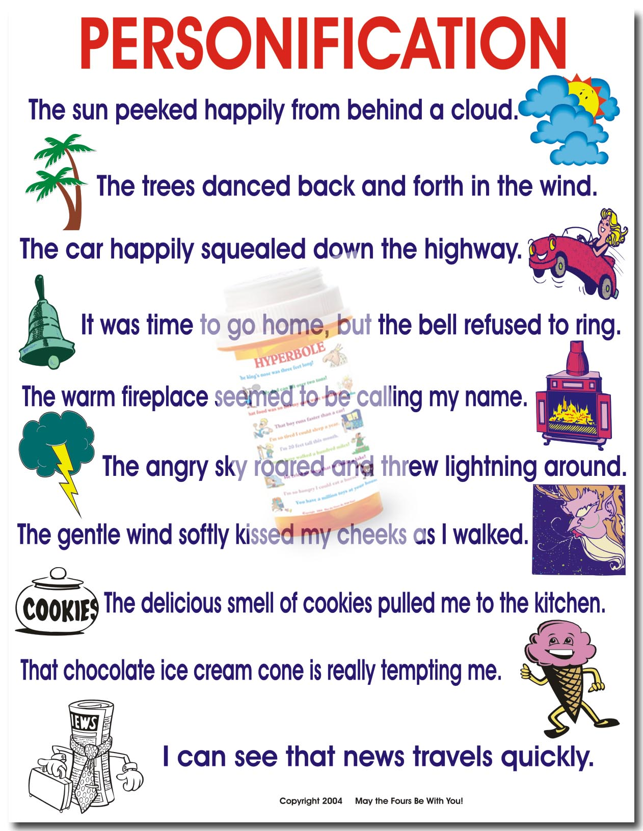 5 Examples Of Simile Metaphor And Personification Images Example