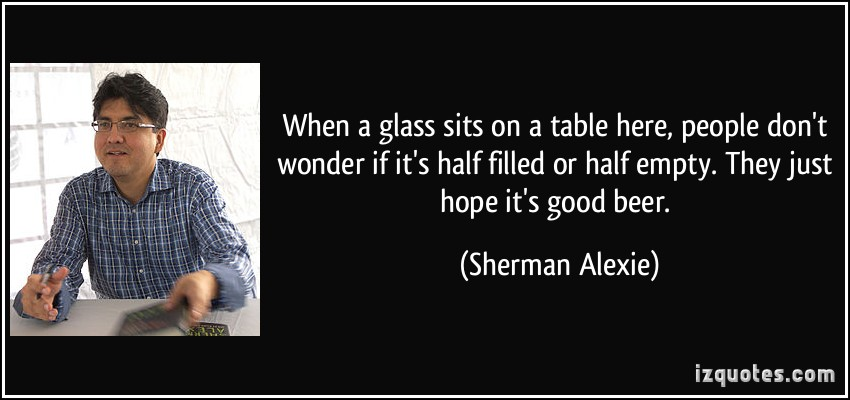 sherman alexie biography essay Sherman alexie is an award-winning author, poet, and filmmaker his work primarily focuses on contemporary native american identity alexie was born on october 7.