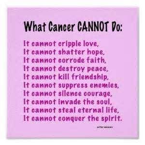 Short Cancer Poems