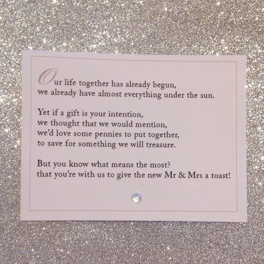 Wedding Invitations Poems