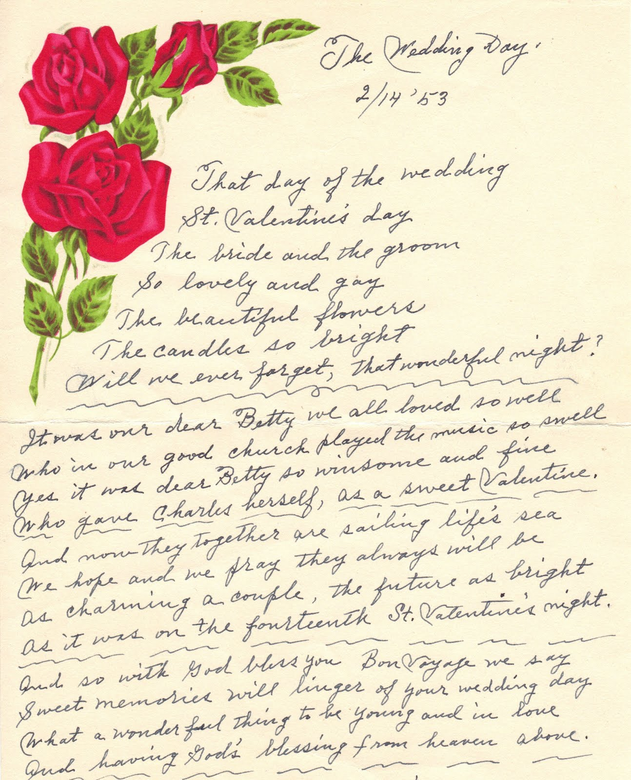 Getting Married Poems
