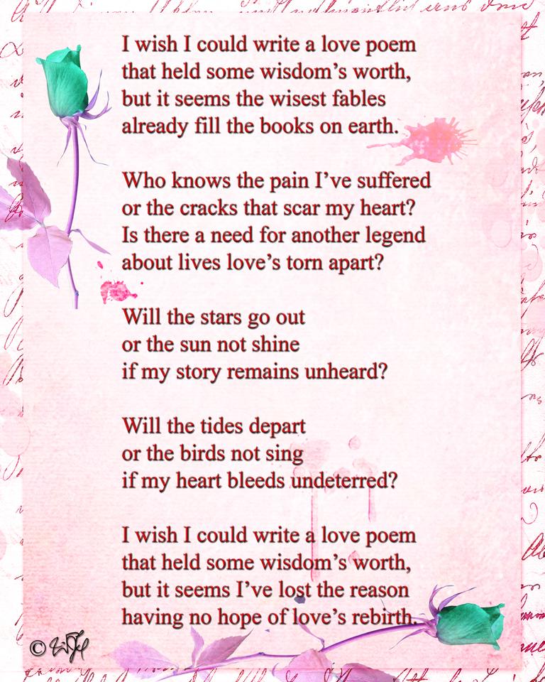 Romantic rhyming poems