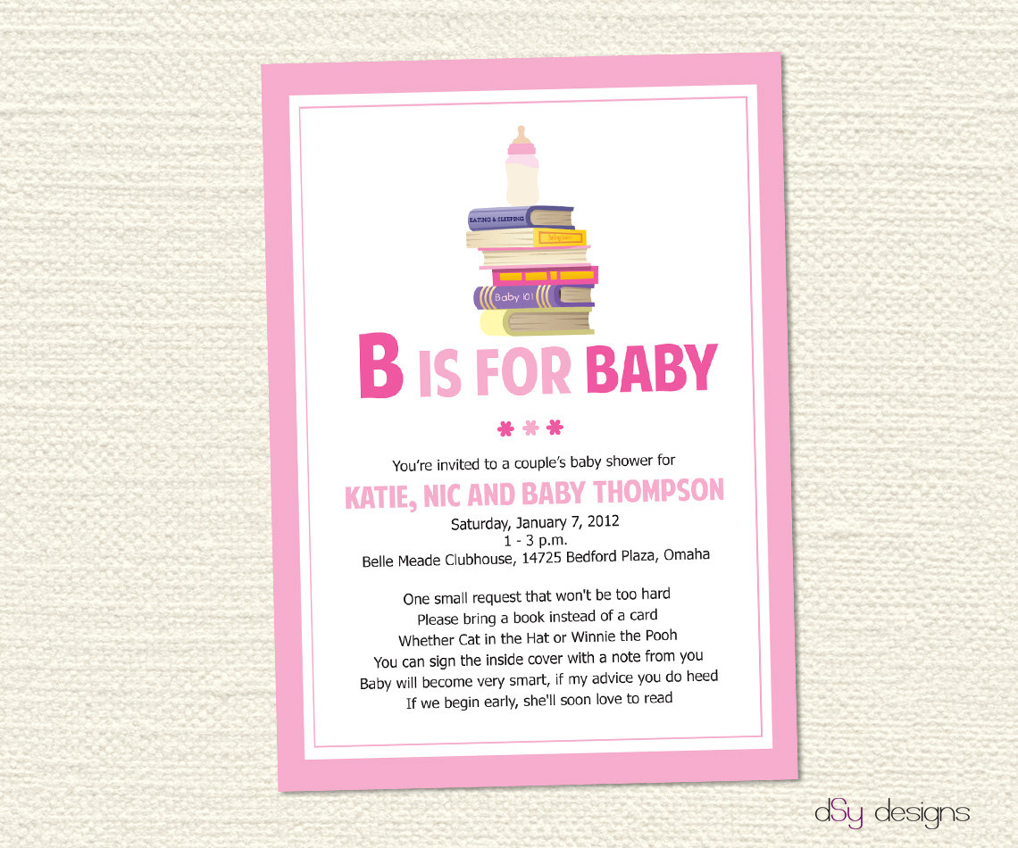 Baby shower invitation poems m4hsunfo