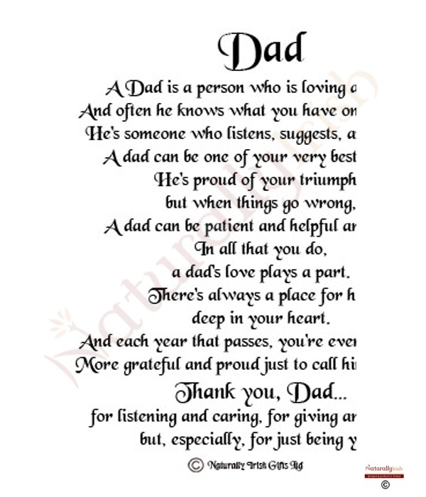 Happy Fathers Day Poems Fathers Day Photo Ideas Fathers Day