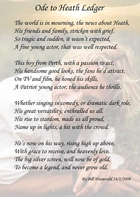 ode poems