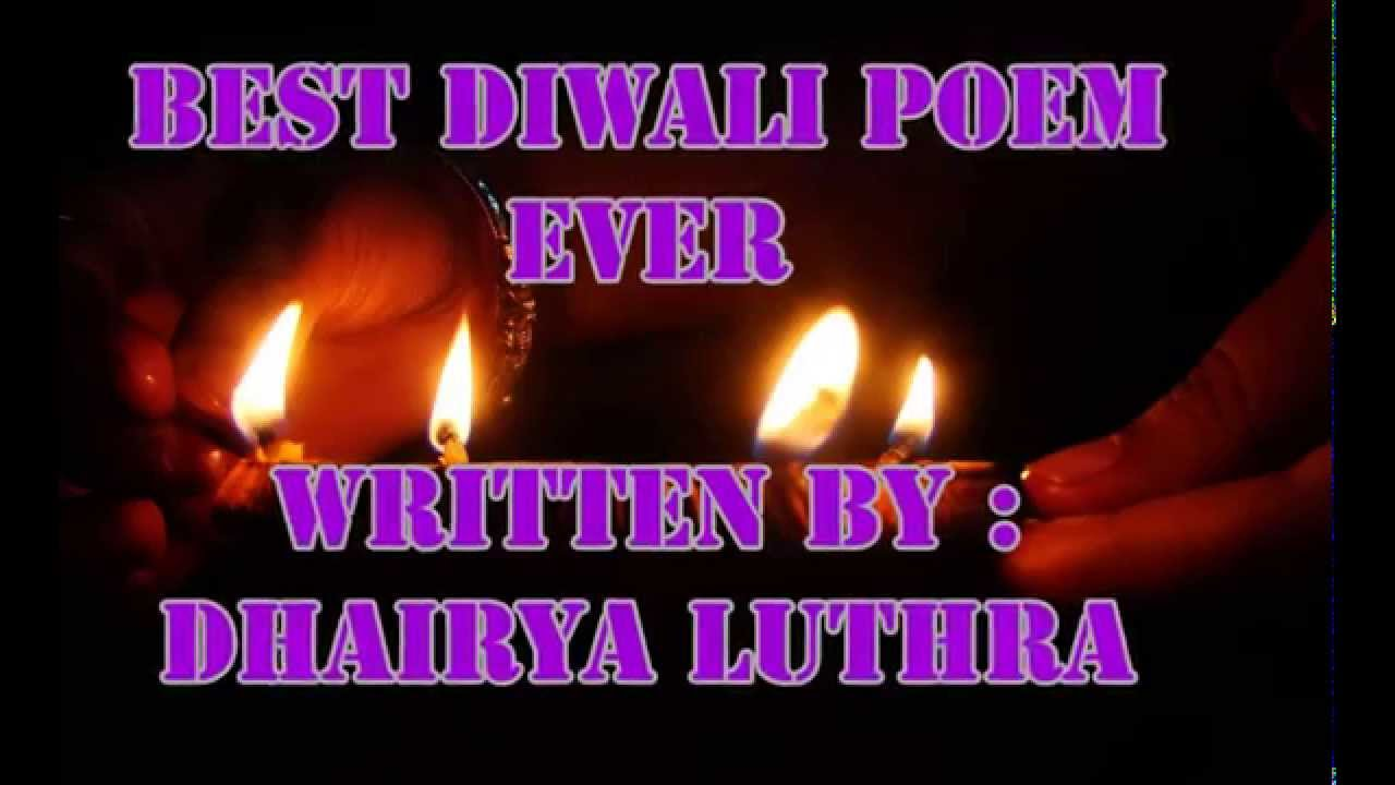 diwali poems