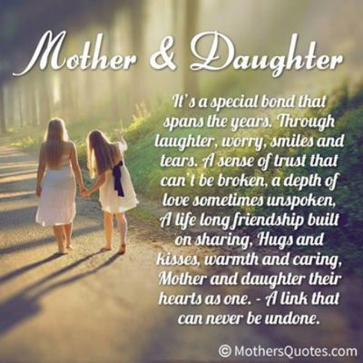 Mother daughter Poems