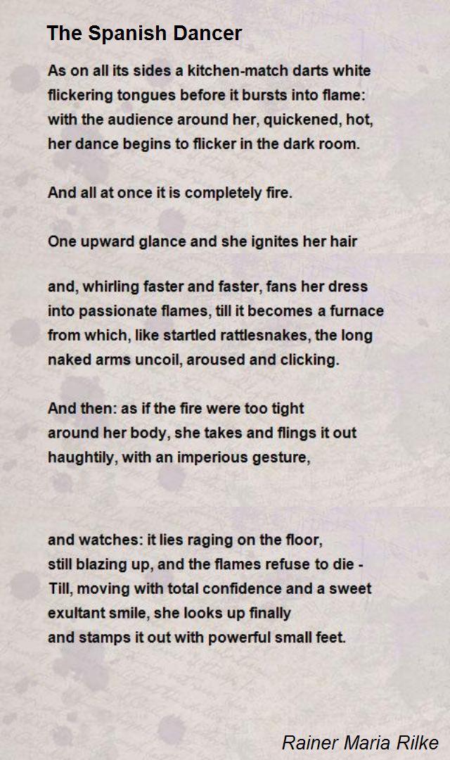 dance poems that rhyme