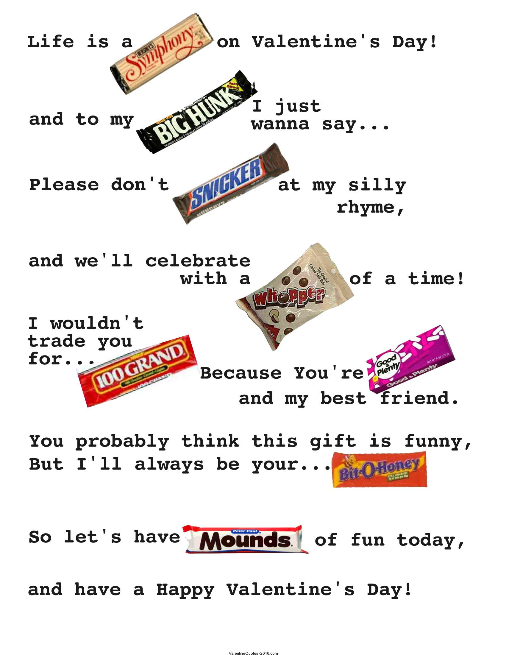 Funny Valentines Day Quotes For Friends | Gallery 14 February