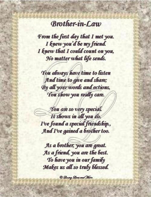 Funny Brother Poems