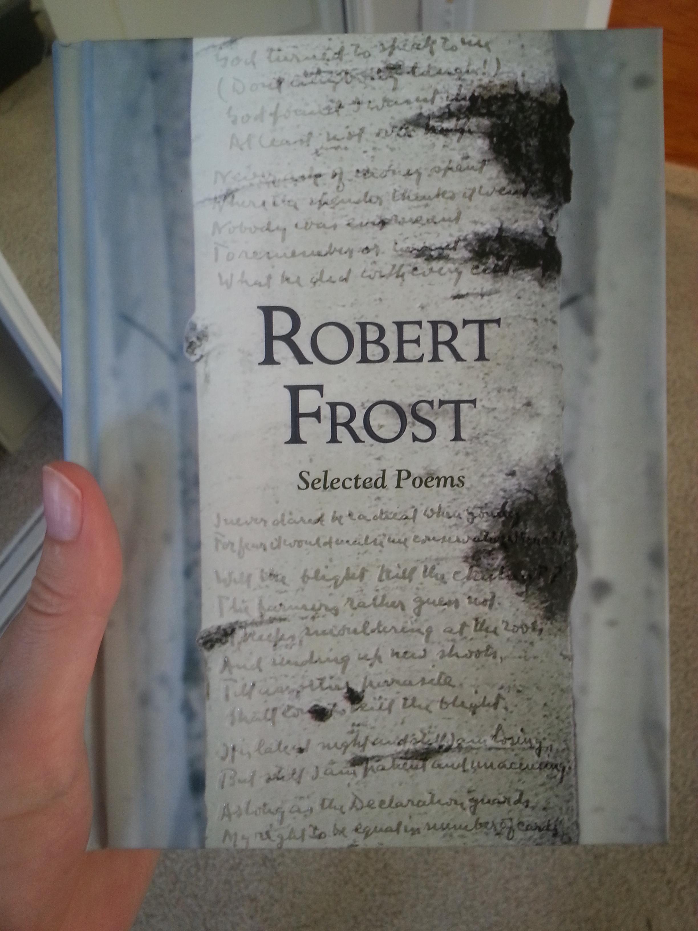 Robert frost birches essay