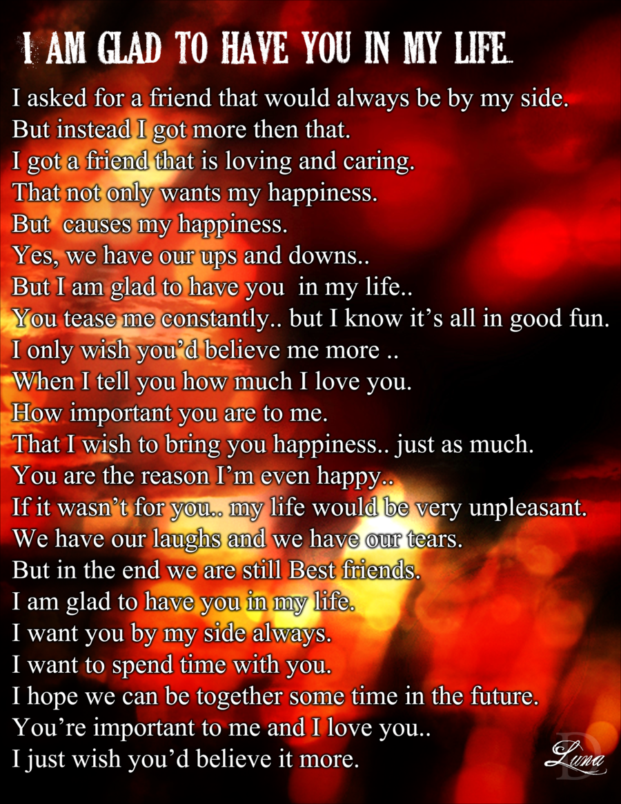 You Are My Life Poems