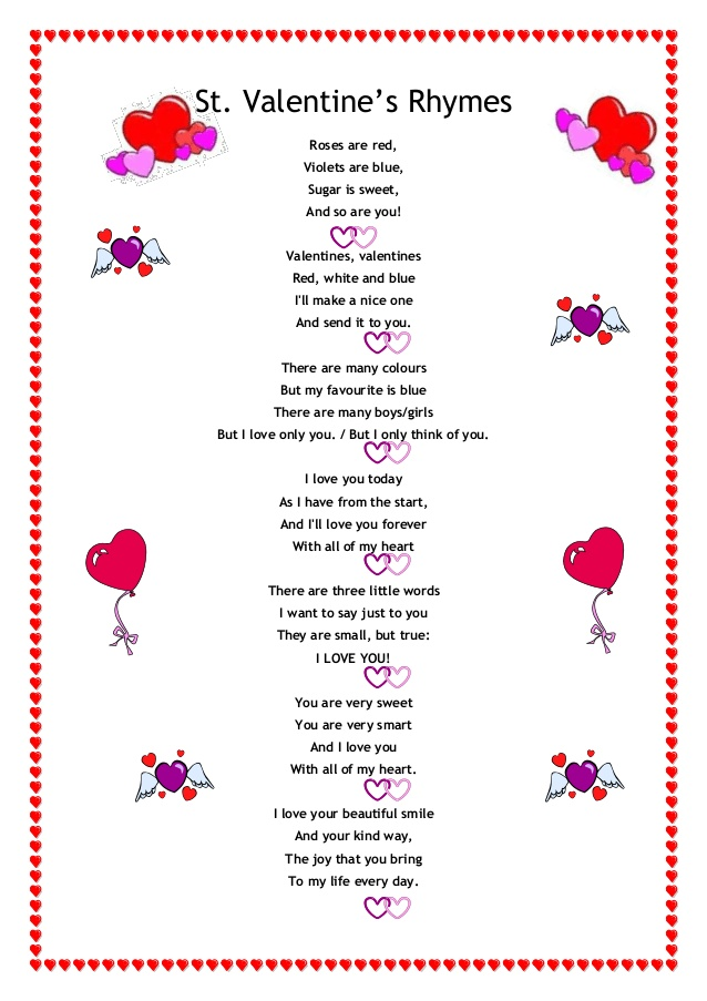 valentines day poetry valentines day poems and rhymes