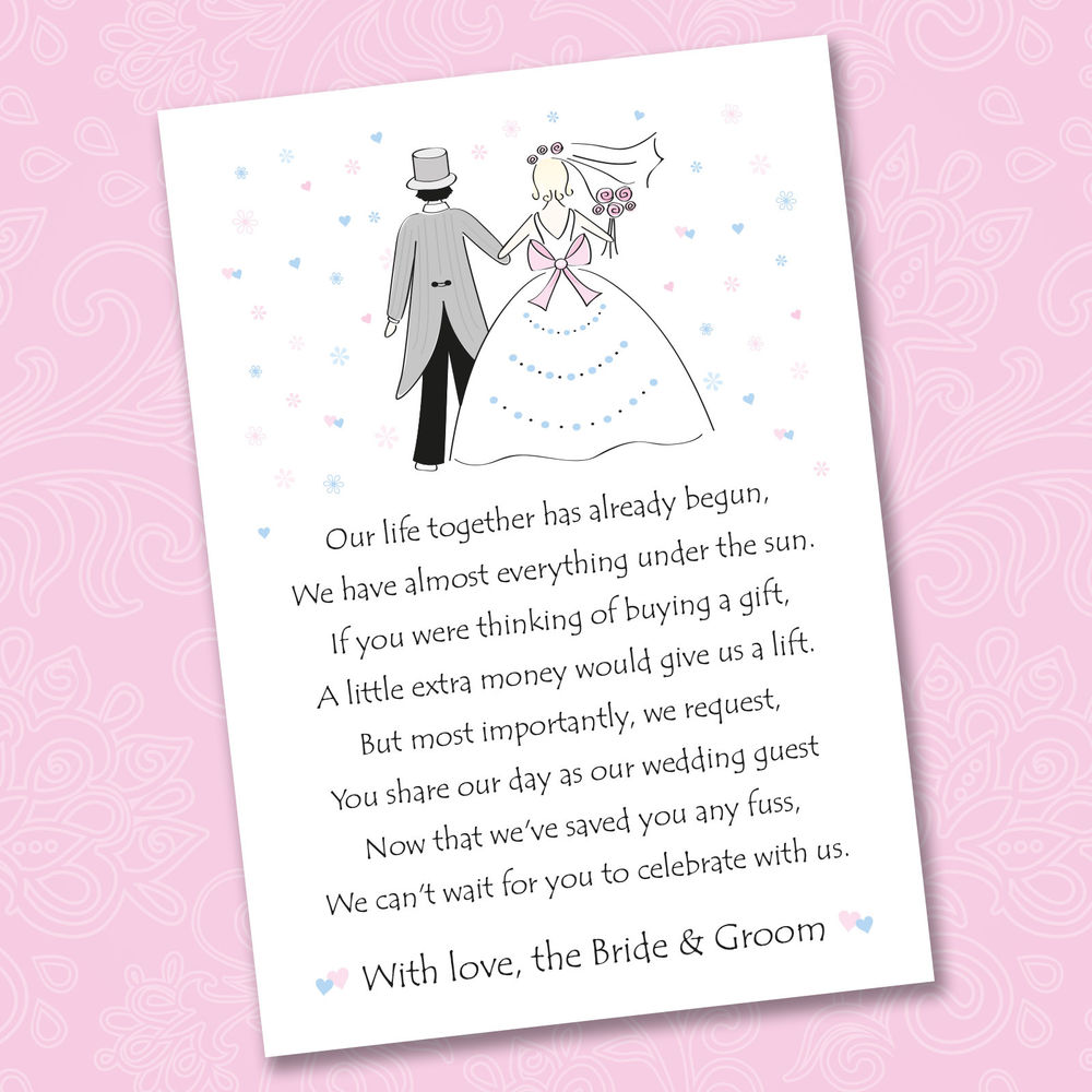 Wedding Gift Poems