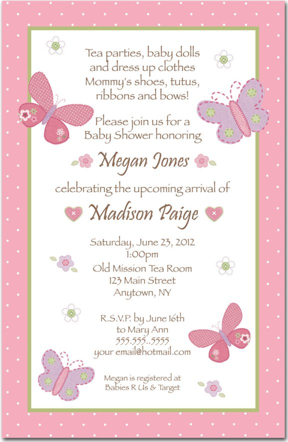 Baby shower invitation poems filmwisefo