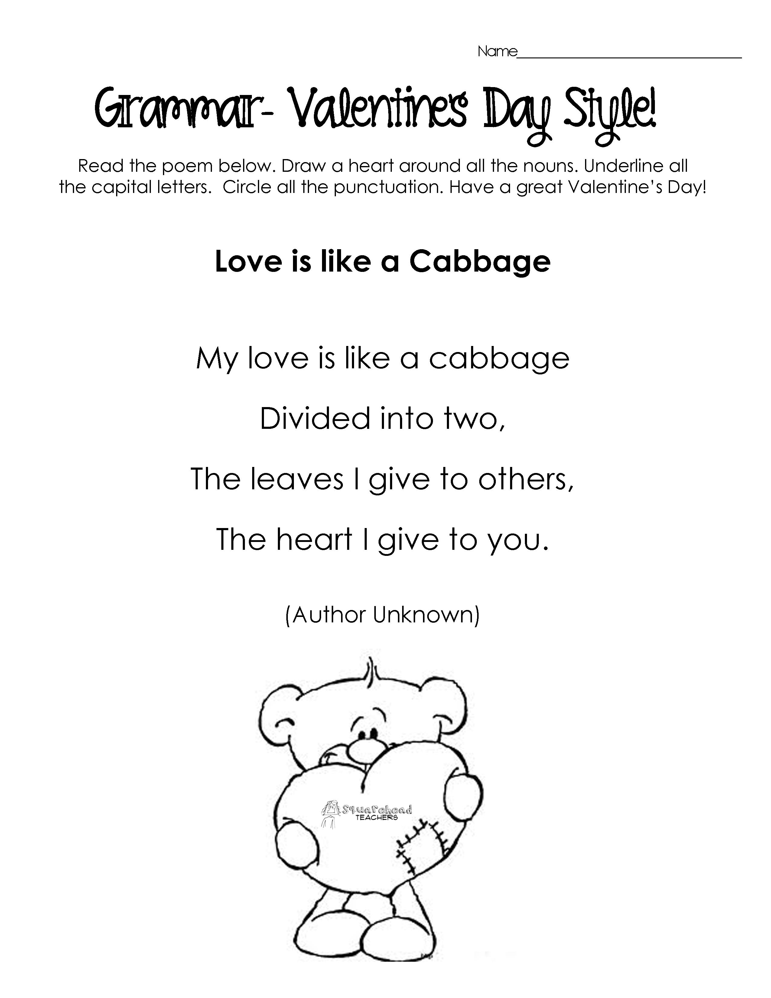 Vday Poems