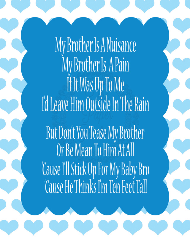 Little brother Poems