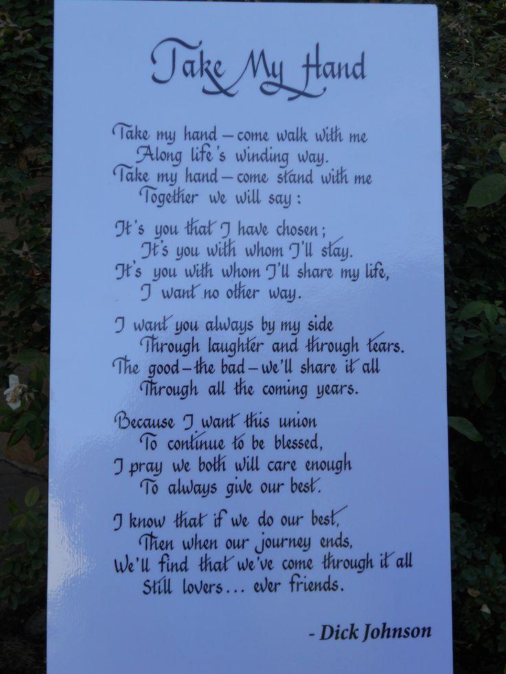 Great Wedding Poems
