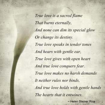 True relationship Poems