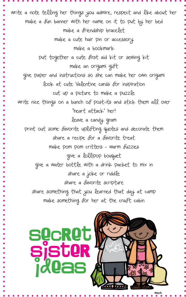 Secret sister Poems