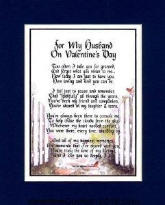 Husband Valentine Poems
