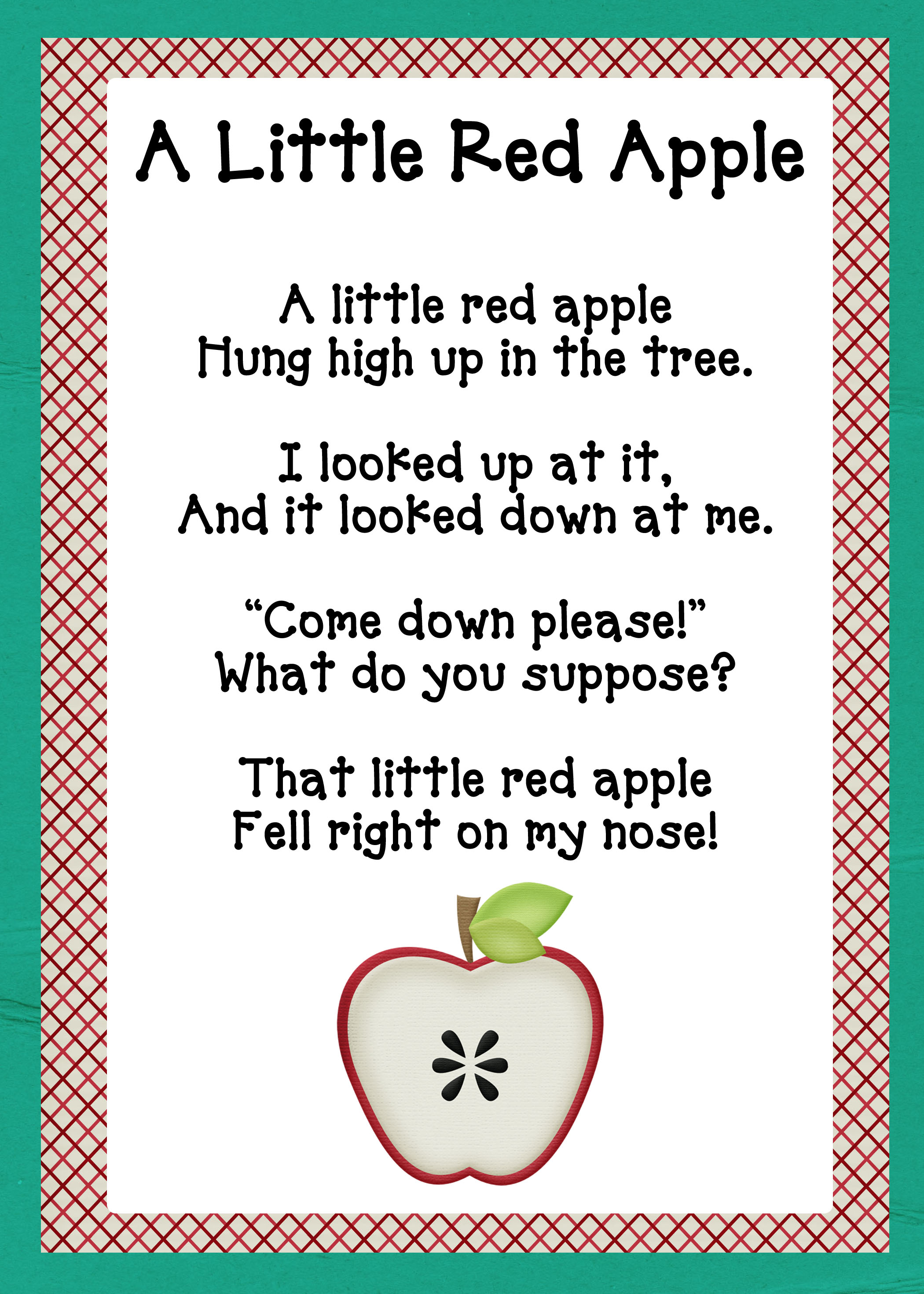 A Is For Apples Oopsey Daisy