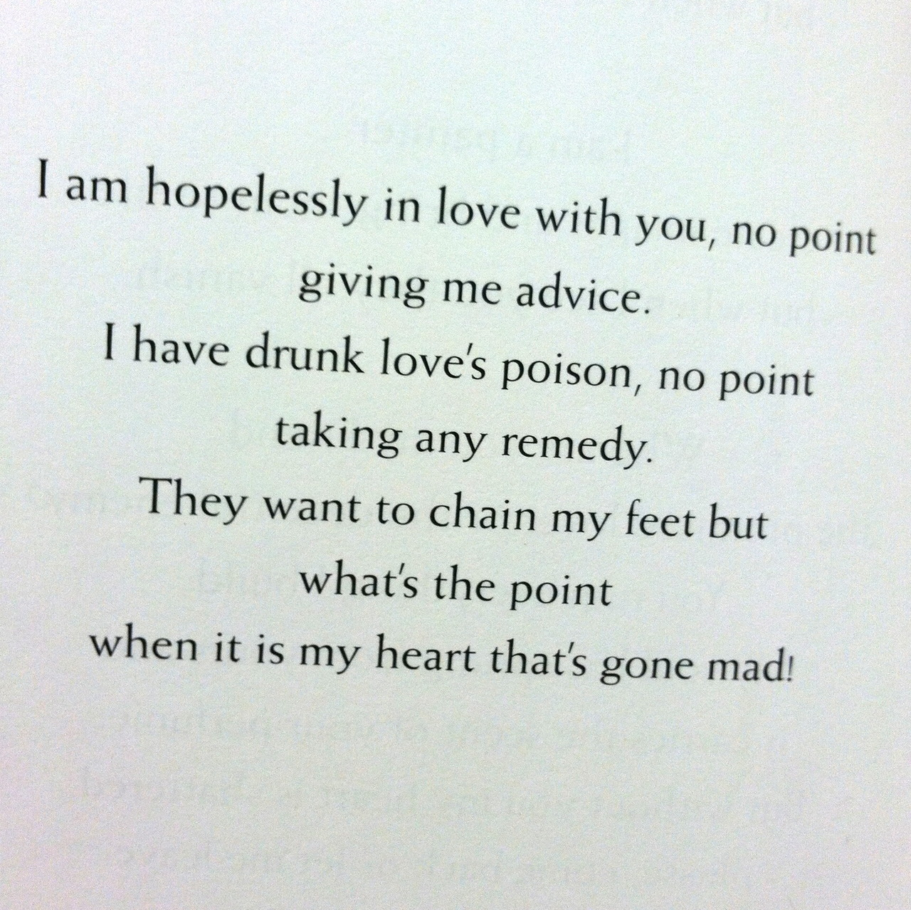 Cool Love Poems