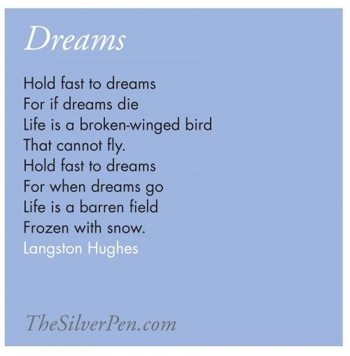 Short poems about dreams