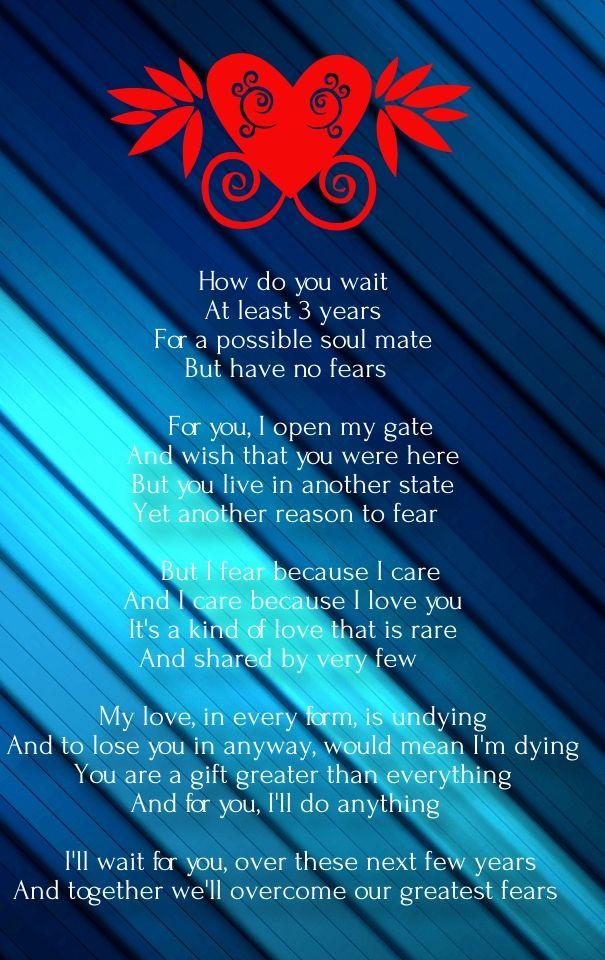 Distance Love Poems